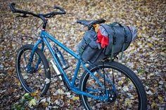 DIY Long Flap Saddlebag - like Carradice Camper Longflap - waxed canvas