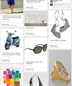 How creating your own personal Pinterest style board can help you pinpoint your tastes for a home redesign or wardrobe makeover.