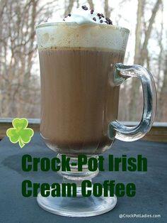 Crock-Pot Irish Cream Coffee-Crockpotladies.com