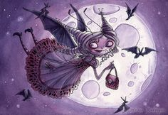 Annie Rodrigue Art | Trixie's Treats: Moonlight Whispers -- Annie Rodrigue