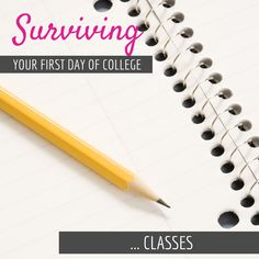 So you've moved in, unpacked, met friends, went out, explored and had a few  days to just enjoy your new life in college; but then you realize tomorrow  is your first day of class. Don't panic! Here are some tips on what to do  before your first day of classes, and things you should and shouldn't bring  with you to the first class: