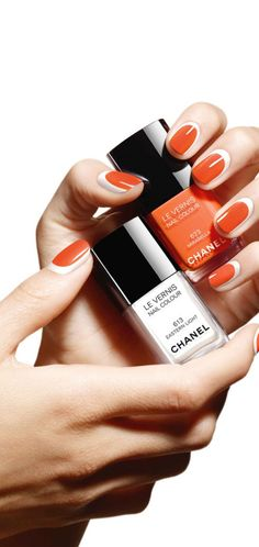 Chanel Summer 2014 collection summer nails