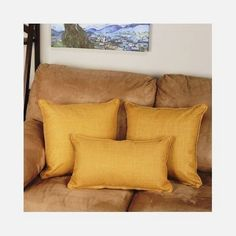 Throw Pillows Indoor Outdoor Home Furnishings Decor Polyester Set Of 3 Sandstone #BlazingNeedles #Contemporary