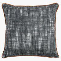 Ukr. jastuk SNEPRYD 45x45 cm siva/konjak