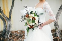 love this bouquet and our future photographers did an awesome job!