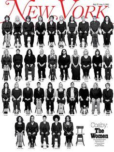 Best Magazine Covers 2015 - New York Magazine - Cosby: The Women