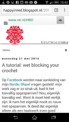 http://happyinred.blogspot.nl/2014/05/a-tutorial-wet-blocking-your-crochet.html?m=1