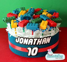 Lego Cake Pops - SmartieBox Cake Studio