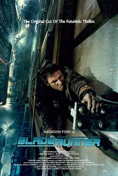 """Blade Runner (1982)    """"It's too bad she won't live! But then again, who does?""""    (poster by Silver Ferox Design)"""
