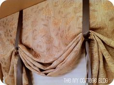 Easy and cheap window treatment
