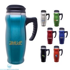 15 oz contoured thermal mug hot or cold beverage foam insulated double walled