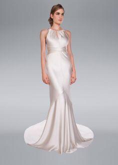 Aisha Wedding Dress, Amanda Wakeley Designer Collection
