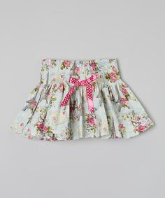 Love this Mint Vintage Paris Twirl Skirt - Infant, Toddler & Girls by Carolina Kids on #zulily! #zulilyfinds