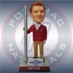 Last one! Frank Costanza Festivus Seinfeld Bobblehead Potomac Nationals SGA…