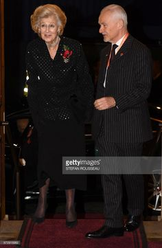 Britain's Princess Alexandra (L) arrives for the the annual Royal Festival of Remembrance at the Royal Albert Hall in London on November 11, 2017 on Armistice Day. The Queen, accompanied by His Royal Highness The Duke of Edinburgh and other members of the Royal Family attended the annual Royal Festival of Remembrance at the Royal Albert Hall. The anniversary of Armistice Day, November 11, 1918, is marked in Britain with a number of events and acts of remembrance to honour those who fell in…