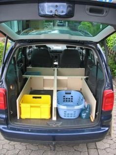 Untergestell Minivan Camping Camping Ausbau Ladeflachen Camping