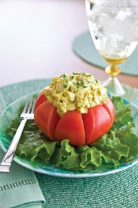 Curried Egg Salad with Mango Chutney | Food - Salads:Egg | Pinterest ...