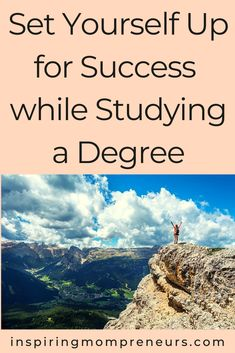 Are you currently studying?  Here are five super helpful tips on how you can set yourself up for success while studying a degree.     #setyourselfupforsuccess #longtermsuccess #successtips #studyingadegree #careertips Career Success, Future Career, Work Life Balance, Jobs Hiring, Helpful Tips, Studying, Night Life, Things To Come, Inspiration