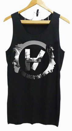 366ee00a9d581 Tank top Girl and Mens twenty one pilot logo tank by UltraTshirt Twenty One  Pilots Merch