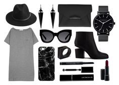 """""""Untitled #6"""" by k-chic on Polyvore featuring T By Alexander Wang, Alexander Wang, Givenchy, BeckSöndergaard, Karen Walker, Oasis, The Horse, Casetify, MAC Cosmetics and Christian Dior"""