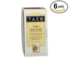 Tazo Calm Filter Bag Tea, 24-Count Packages (Pack of 6)