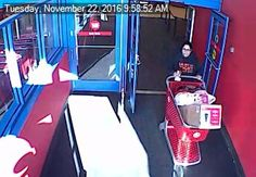 Police say the woman may have been involved in an incident in November.