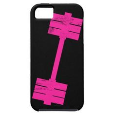 Hot Pink Weight iPhone 5 Cases