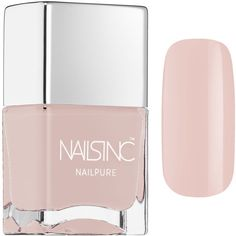 NAILS INC. NAILPURE ($14) ❤ liked on Polyvore featuring beauty products, nail care, nail polish, nails inc. and nails inc nail polish
