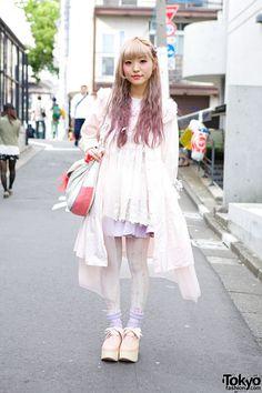 Lilac Hair  Pastel Fashion w/ Nile Perch  Tokyo Bopper in Harajuku