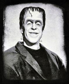 Herman Munster Mens T Shirt Gothic Punk Horror Monster Vampire Frankenstein s M   eBay