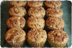 Rhubarb Muffins - TONS of muffin recipes! Russian Desserts, Russian Recipes, No Bake Desserts, Dessert Recipes, Czech Recipes, Yummy Food, Tasty, Healthy Baking, Kefir
