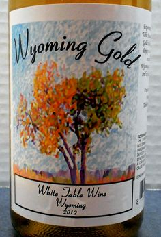 Wyoming (Table Mountain Vineyards & Winery 2012 Wyoming Gold)