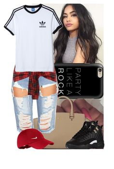 """""""Deleting later"""" by msixo ❤ liked on Polyvore featuring Casetify, Michael Kors, NIKE and adidas Originals"""