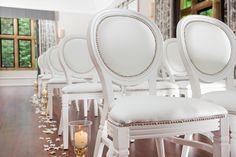 Our Very Glamorous White Louis At Foxhill Weddingideas Chairs Hire Furniture
