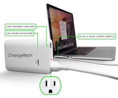 Power up anything, anywhere, anytime! The first portable battery pack with an AC wall plug outlet.   Crowdfunding is a democratic way to support the fundraising needs of your community. Make a contribution today!