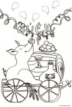 Happy New Year, Techno, Kindergarten, Harry Potter, Pigs, Creative, The Mitten, New Years Eve, Pork