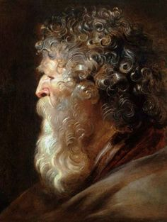 Pieter Paul Rubens - Galleria Corsini, Rome: Teach the kids to draw curls with light!