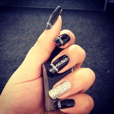 Black n silver