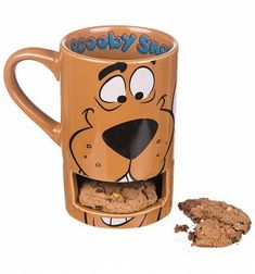Scooby Doo Mug With Biscuit Holder