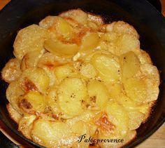 Palócprovence: Tejszínben sült krumpli