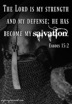 We protect our minds with the helmet of salvation - the assurance that we are saved. We are children of God, and the enemy can never take away our salvation!