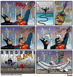 New Ideas For Funny Comics Strips Marvel Batman Vs, Humor Batman, Superhero Humor, Marvel Dc Comics, Batman Comic Art, Comics Und Cartoons, Funny Cartoons, Funny Comics, Funny Shit