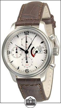 Zeno-Watch Reloj Mujer - NC Retro Chrono Power Reserve - 9553TVDPR-e2-N2  ✿ Relojes para hombre - (Lujo) ✿