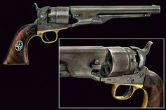 An 1861 model Colt Navy revolver, USA