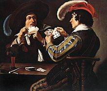 I love to sit down with someone and play a nice games of cards.