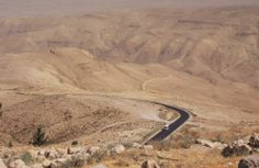 Jordan, view from mount Nebo
