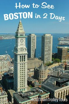 How To See Boston in 2 Days by Old Town Trolley. Almost every city offers walking tours, ghost tours, pub/bar tours, history tours, and you don't have to be a tourist to join. Learn the history of where you live or where your ancestors come from.: