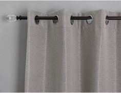 ANDREA - Set of 2 blackout curtain panels - Grey Blackout Curtains, Panel Curtains, Bungalow, Furniture Board, Modern Curtains, Curtain Rods, Decoration, New Homes, Gray