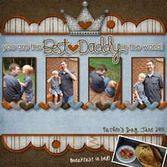 You are the best daddy in the world