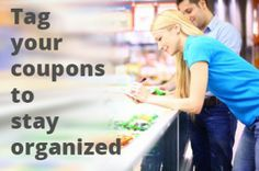 Save Time by Tagging your Coupons